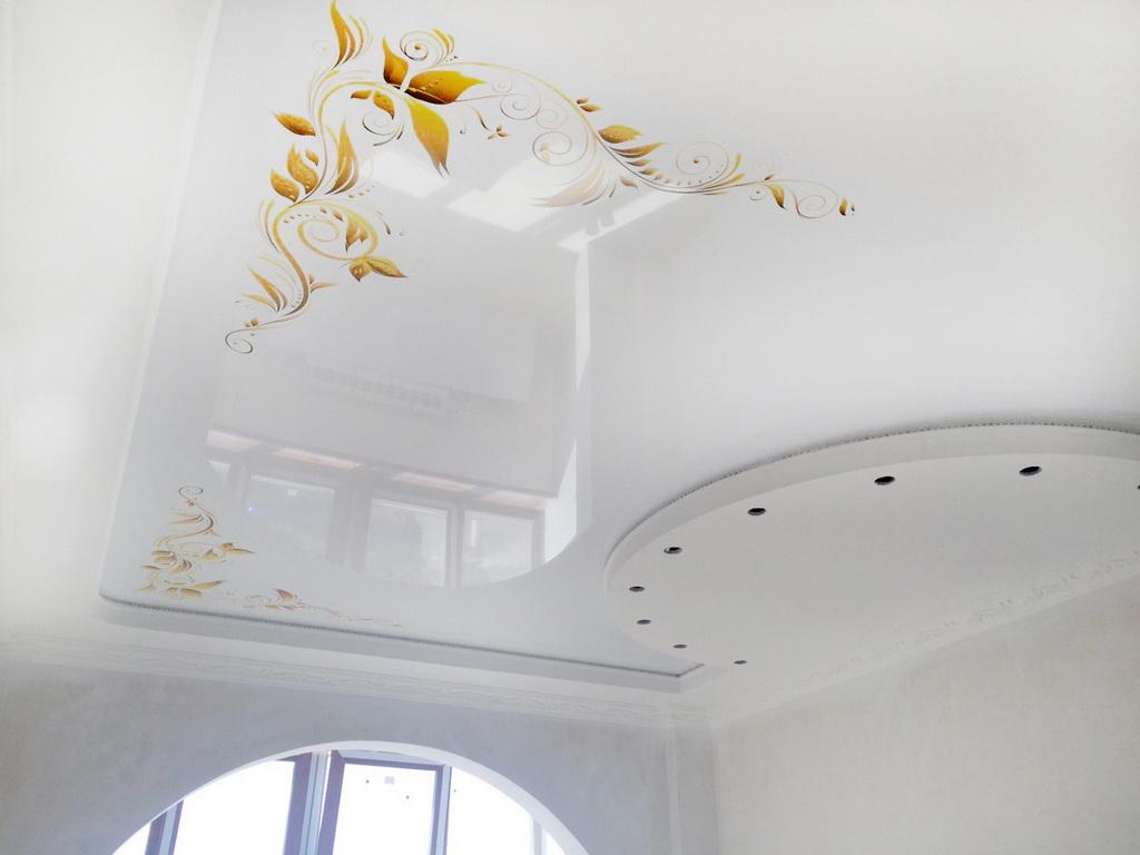 Натяжной потолок с фотопечатью каталог