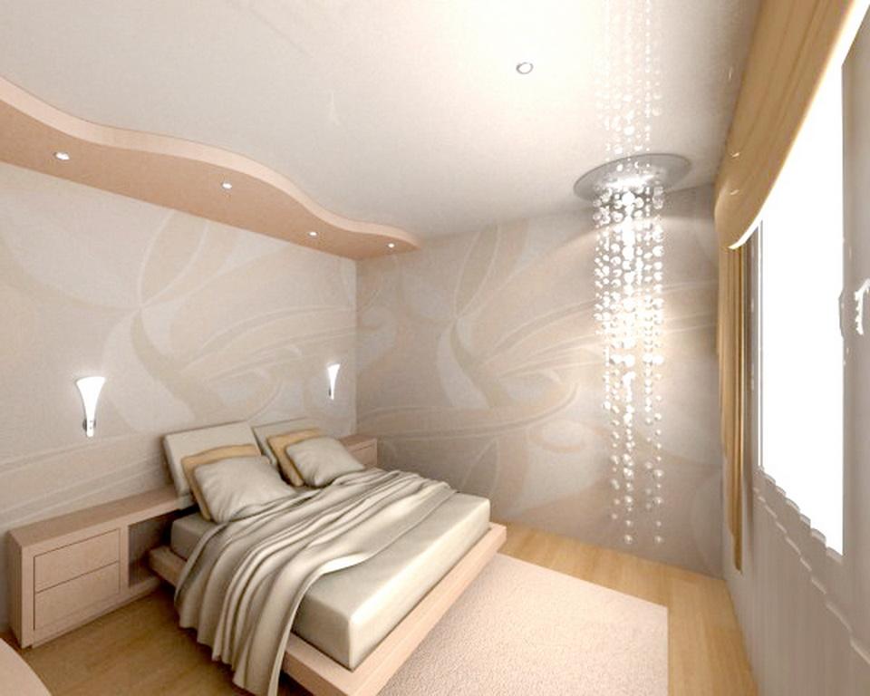 Натяжные потолки для спальни картинки
