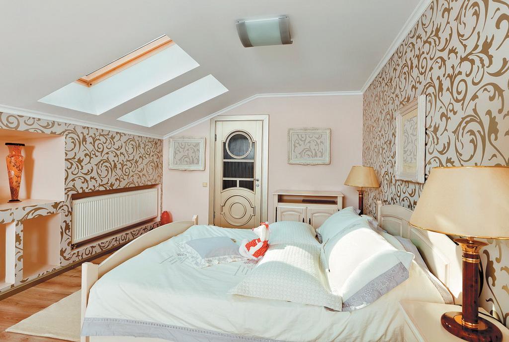 мансардные потолки дизайн фото для сжигания жира