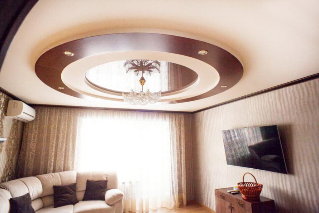 подвесные потолки фото для зала двухуровневые хотел собрать этот